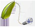 Hörapparat Intiga gulguld