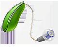 Hörapparat Intiga grön