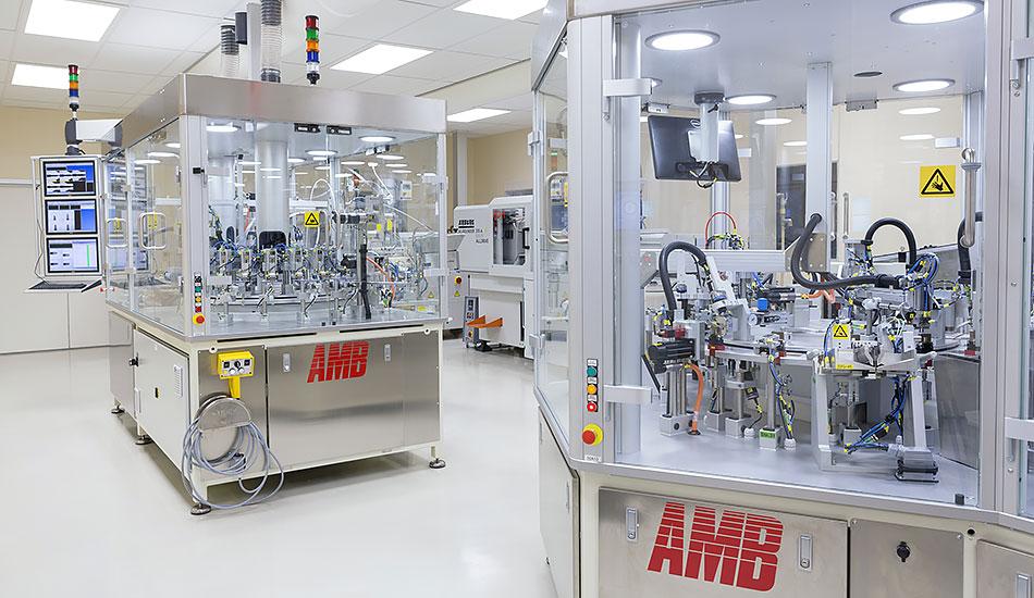 Renrum i AMBs fabrik