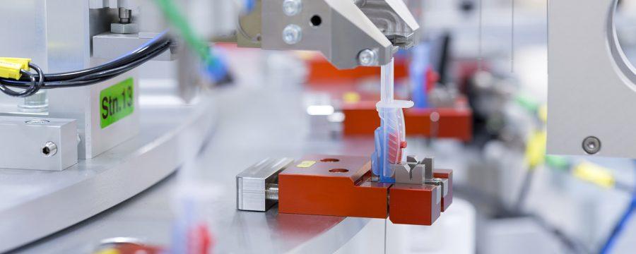 Tillverkning av medicinska plastdetaljer