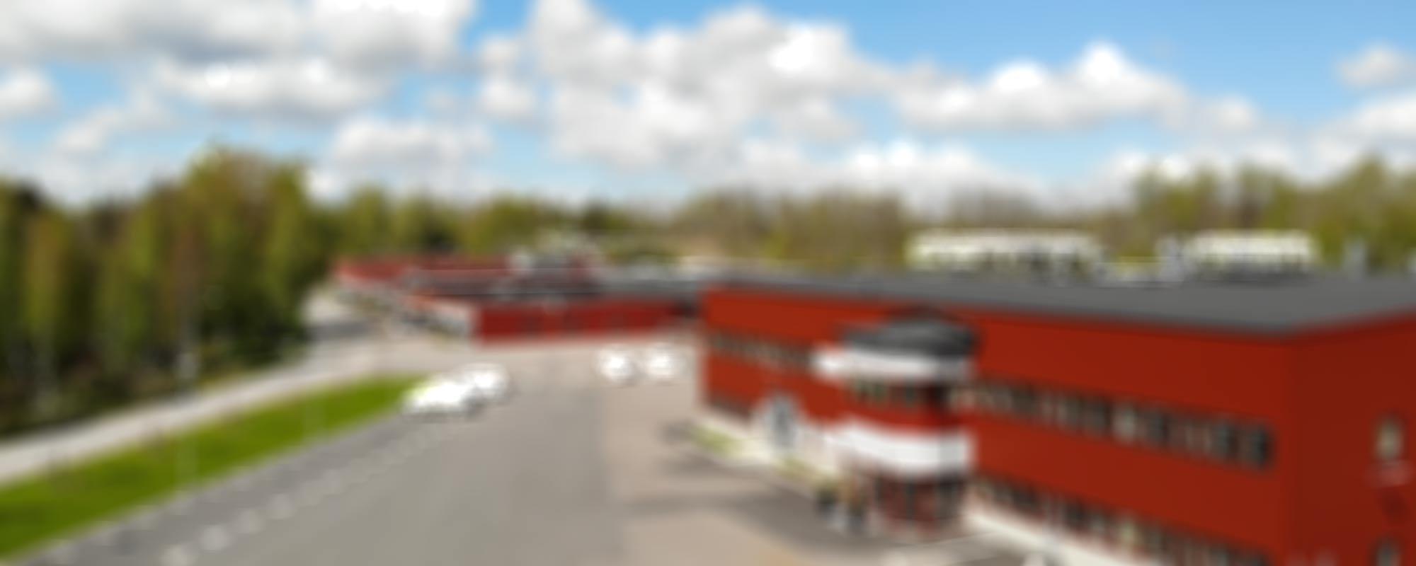 Blurrig bild på AMBs lokaler i Broakulla